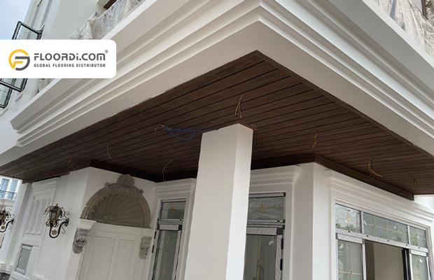 Tấm ốp trần gỗ nhựa WPC