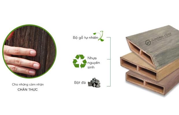 Thanh lam gỗ có bề mặt tinh tế