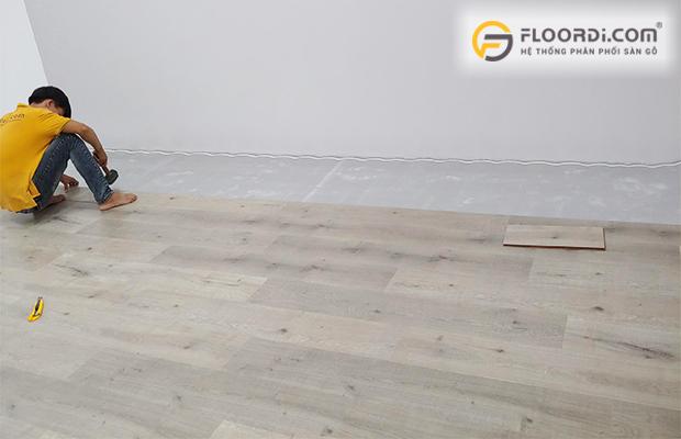 Thi công lắp đặt sàn gỗ đúng cách