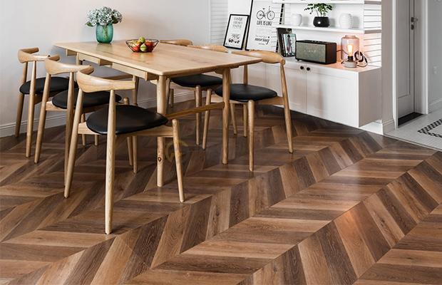 Thiết kế bề mặt và màu sắc sàn gỗ nhập khẩu chính hãng