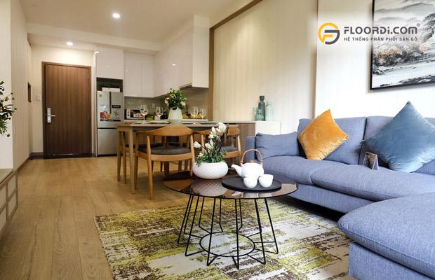 Ứng dụng của sàn gỗ trong thiết kế nội thất