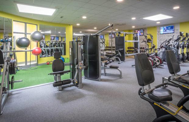 ứng dụng của sàn phòng gym