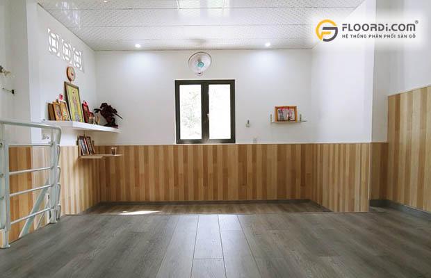 Ốp tường, lamri gỗ là xu hướng trang trí đang được ưu chuộng
