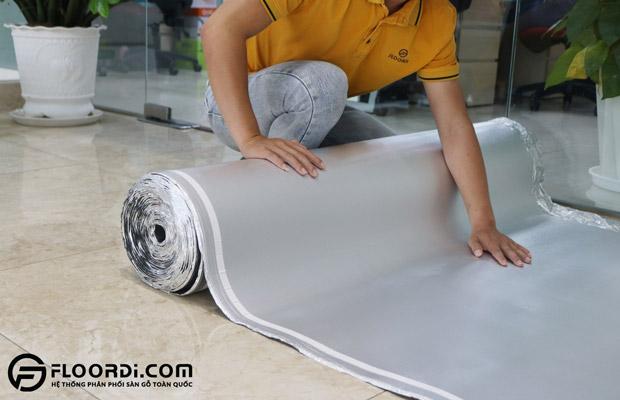 Ưu điểm của xốp lót sàn