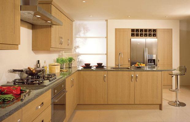 Ván ép Plywood được ứng dụng ốp tủ bếp