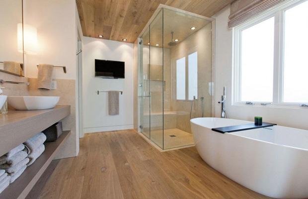 Vì sao nên lót sàn nhựa nhà tắm