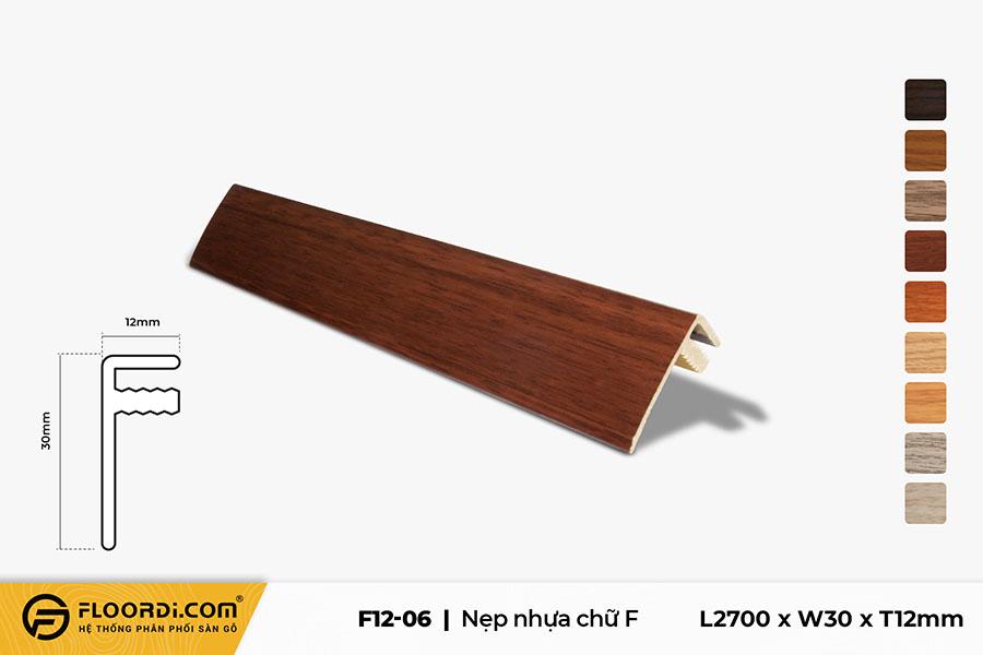 Nẹp F - F12-06 - 12mm