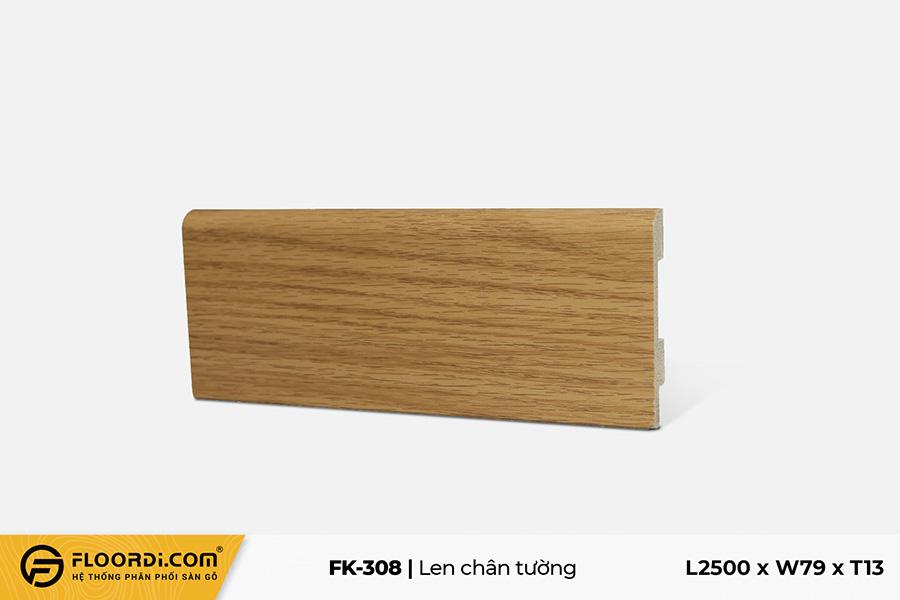 Len chân tường FK-308 - Yellow - 13mm