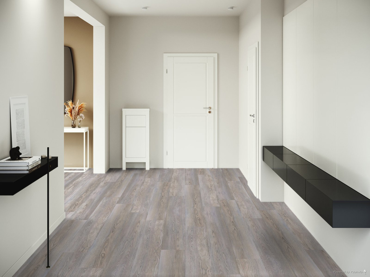 Sàn gỗ H1001 Sik Grey - 8mm - AC4