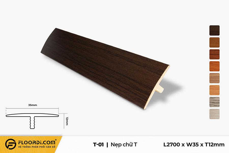Nẹp chữ T - T-01 - 12mm