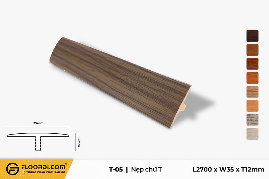 Nẹp chữ T - T-05 - Golden Brown - 12mm