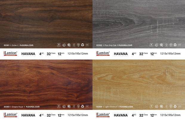 Các mẫu sàn gỗ giá rẻ lamton