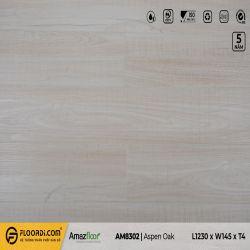 Sàn nhựa hèm khóa Amazfloor AM8302 Aspen Oak- 4.5mm