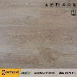 Sàn nhựa hèm khóa Amazfloor AM8305 Oak Colorado - 4.5mm