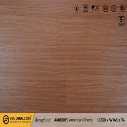 Sàn nhựa hèm khóa Amazfloor AM8307 American Cherry - 4.5mm