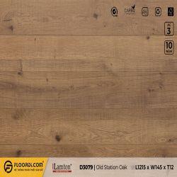 Sàn gỗ Lamton D3079 Old Station Oak - 12mm - AC4