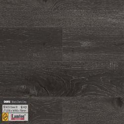 Sàn gỗ D8815 Black Dark Grey - 8mm - AC3