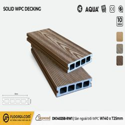 Sàn ngoài trời WPC - DK14025B-RW01 - B.Teak - 25mm