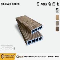 Sàn ngoài trời WPC - DK14025B-RW02 - B.Teak - 25mm