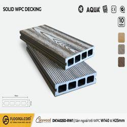 Sàn ngoài trời WPC - DK14025D-RW01 - Driftwood - 25mm
