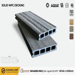 Sàn ngoài trời WPC - DK14025D-RW02 - Driftwood - 25mm