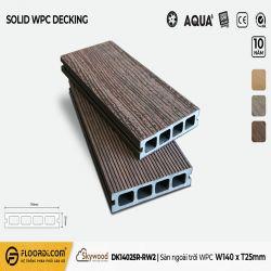 Sàn ngoài trời WPC - DK14025R-RW02 - Rosewood - 25mm