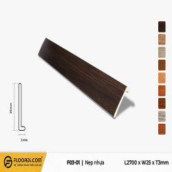 Nẹp F - F3-01- 3mm