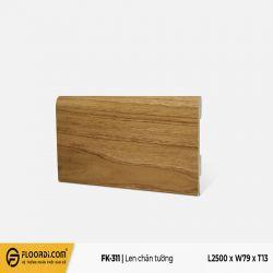 Len chân tường FK-311 - Yellow Brown - 13mm