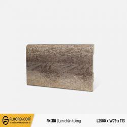 Len chân tường FK-318 - Wine Brown - 13mm
