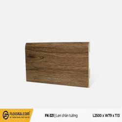 Len chân tường FK-321 -  Dark Brown - 13mm