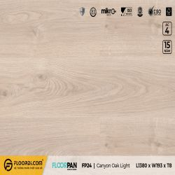 Sàn gỗ FP24 Canyon Oak Light - 8mm - AC4