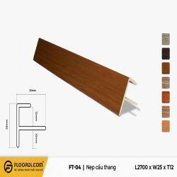 Nẹp F - FT-04 - 12mm