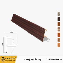 Nẹp chữ F - FT-06 - Brown Black - 12mm