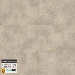 Sàn gỗ vân đá FT004 Stone Beige Concrete - 8mm - AC5