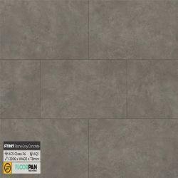 Sàn gỗ vân đá FT007 Stone Gray Concrete - 8mm - AC5