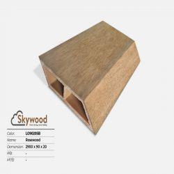 Thanh lam gỗ trang trí LO9020B - B.Teak - 20mm