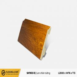 Len tường nhựa SK7613-13 - Red Brown - 13mm