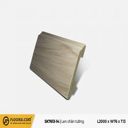Len tường nhựa SK7613-14 - Bright White - 13mm