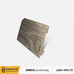 Len tường nhựa SK7613-15 - DimGrey - 13mm