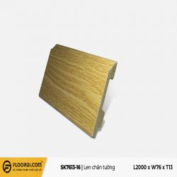 Len tường nhựa SK7613-16 - Pale Yellow - 13mm