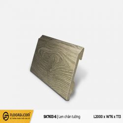 Len tường nhựa SK7613-6 - Gray White - 13mm