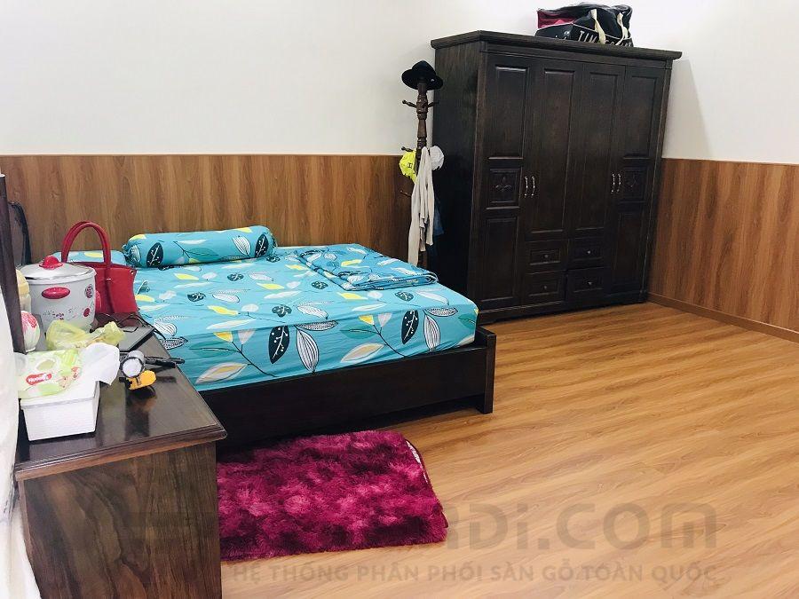 Thi cồng sàn gỗ Lamton D8807