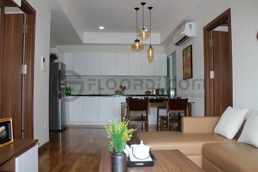 Floordi thi công lắp đặt sàn gỗ căn hộ Hưng Phát 6