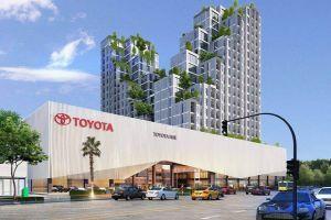 Dự án lắp đặt sàn gỗ nhà mẫu Phú Mỹ An - Toyota Huế