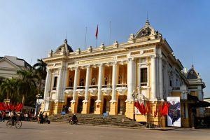 Công trình lắp đặt sàn gỗ xương cá Chevron tại Opera House Hotel Hà Nội