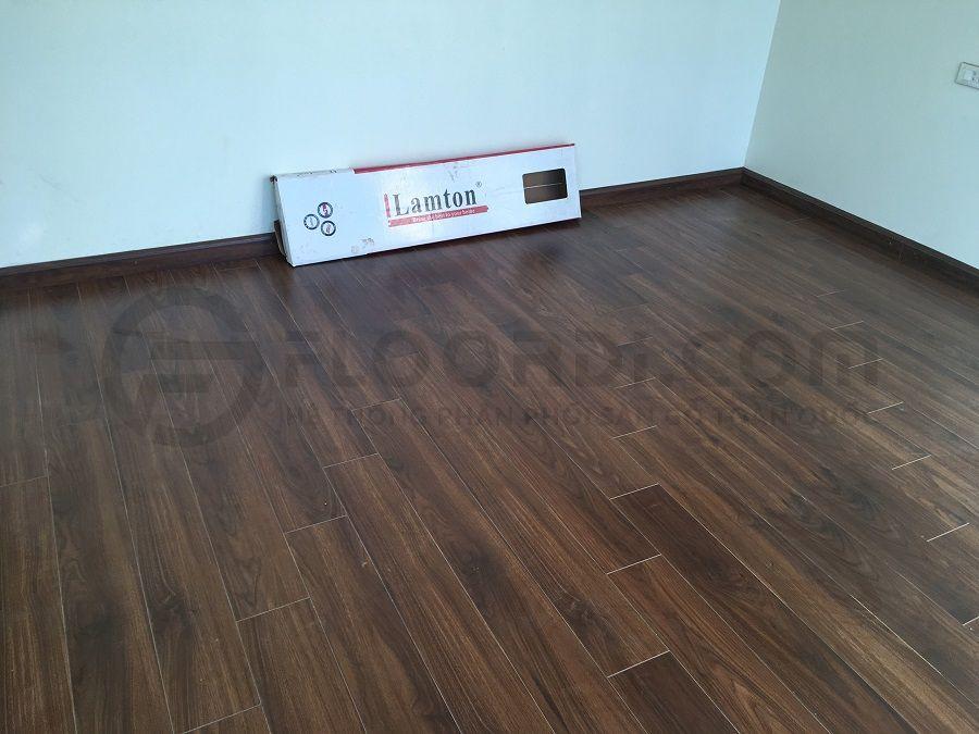 Thi công sàn gỗ Lamton D2300